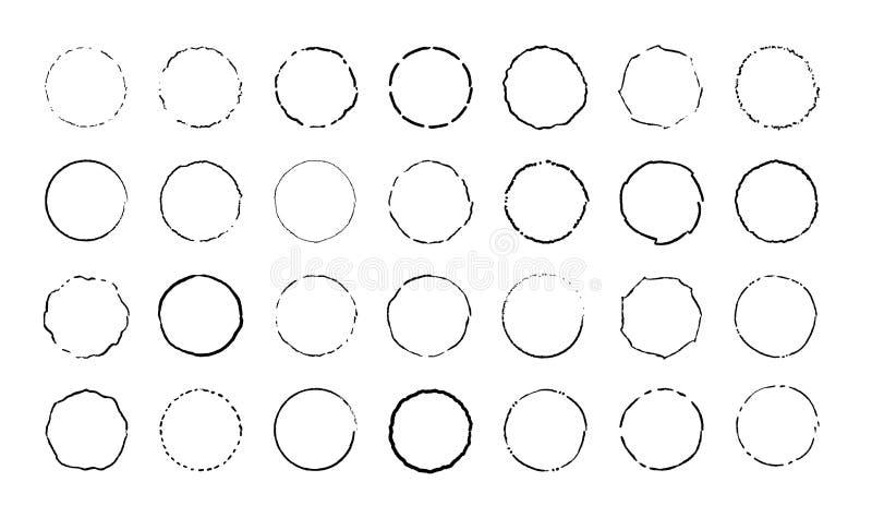 Sistema del c?rculo E r r libre illustration