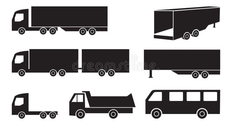 Sistema del camión imagenes de archivo