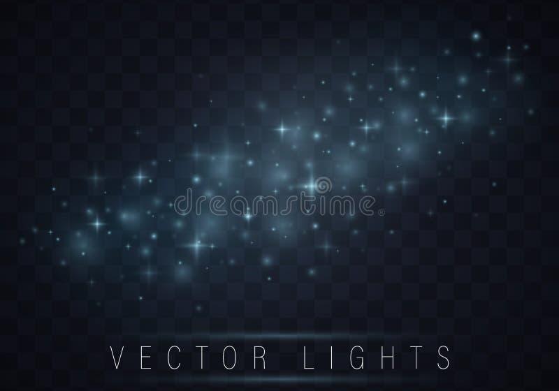 Sistema del efecto luminoso libre illustration