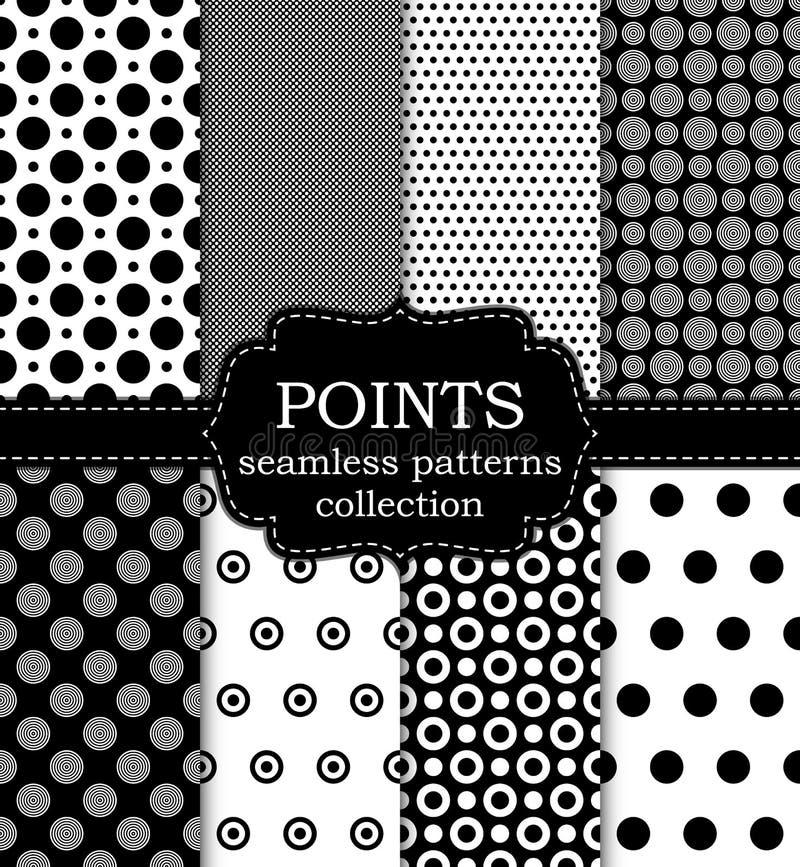 Sistema del ejemplo del vector de puntos inconsútiles de los modelos libre illustration