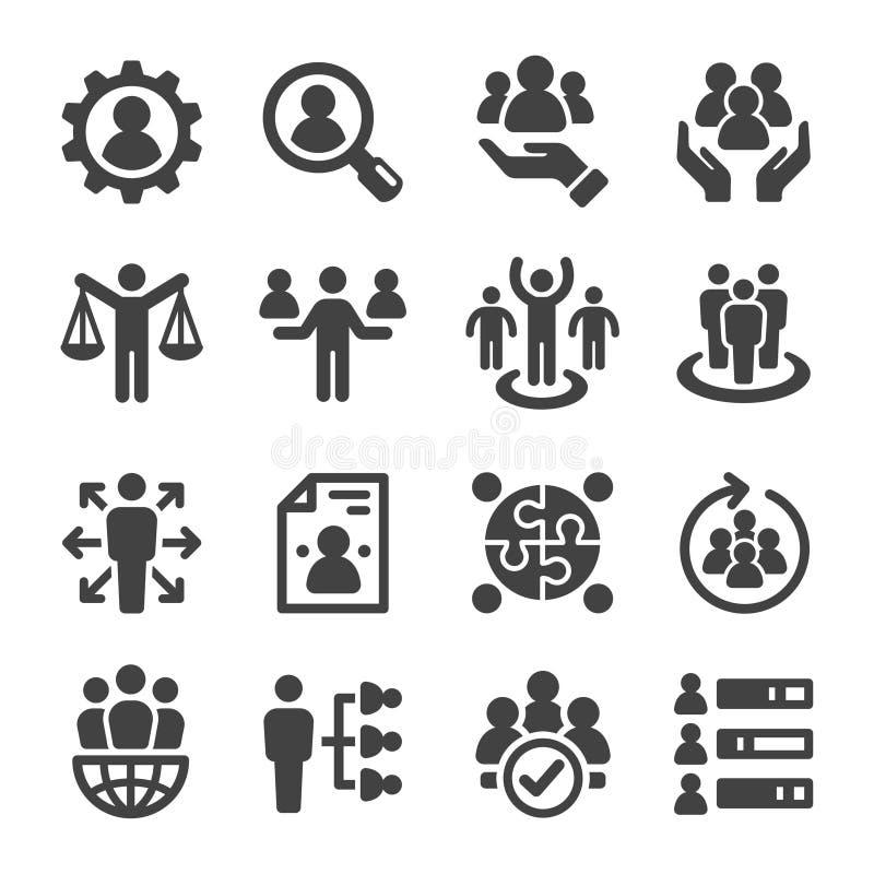 Sistema del icono del algodón y del producto ilustración del vector