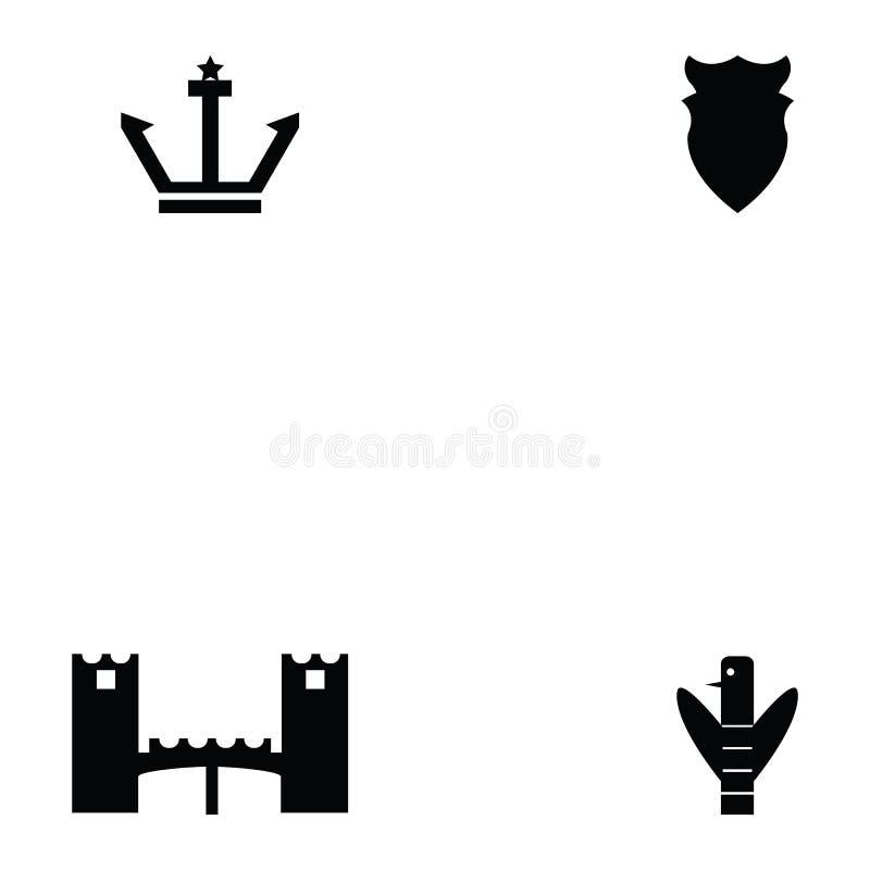 Sistema del icono de la arqueología libre illustration