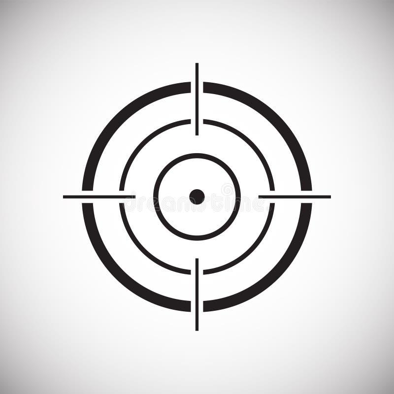 Sistema del icono de la blanco en el fondo blanco para el gráfico y el diseño web, muestra simple moderna del vector Concepto del libre illustration