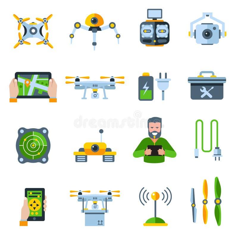 Sistema del icono de las nuevas tecnologías ilustración del vector