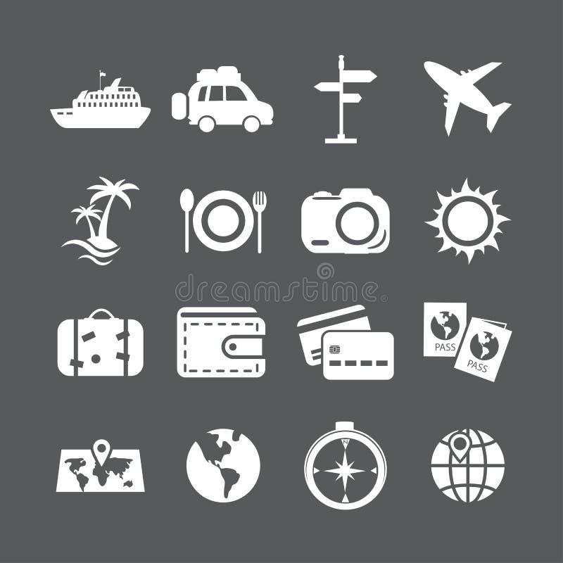 Sistema del icono de las vacaciones, vector eps10 libre illustration