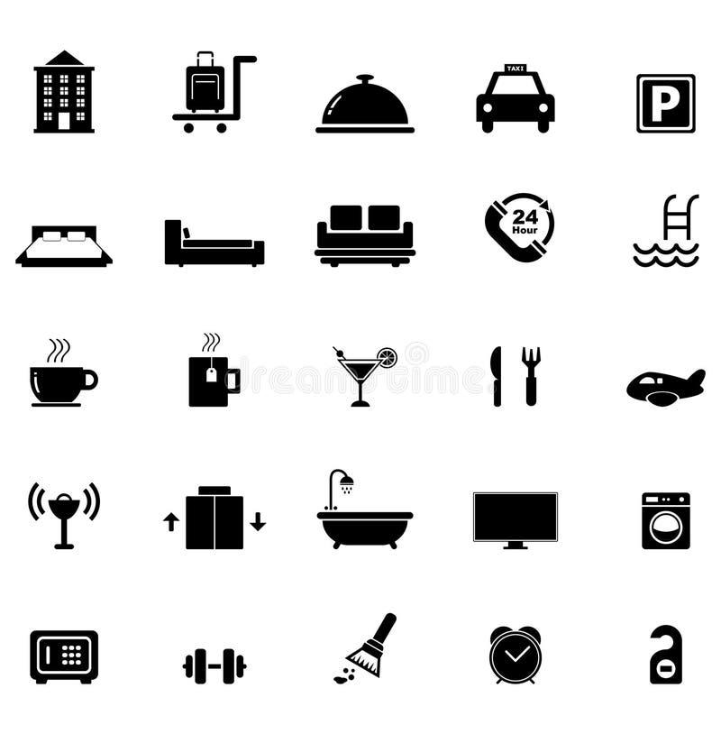 Sistema del icono del hotel libre illustration