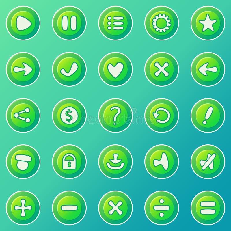 Sistema del juego UI libre illustration