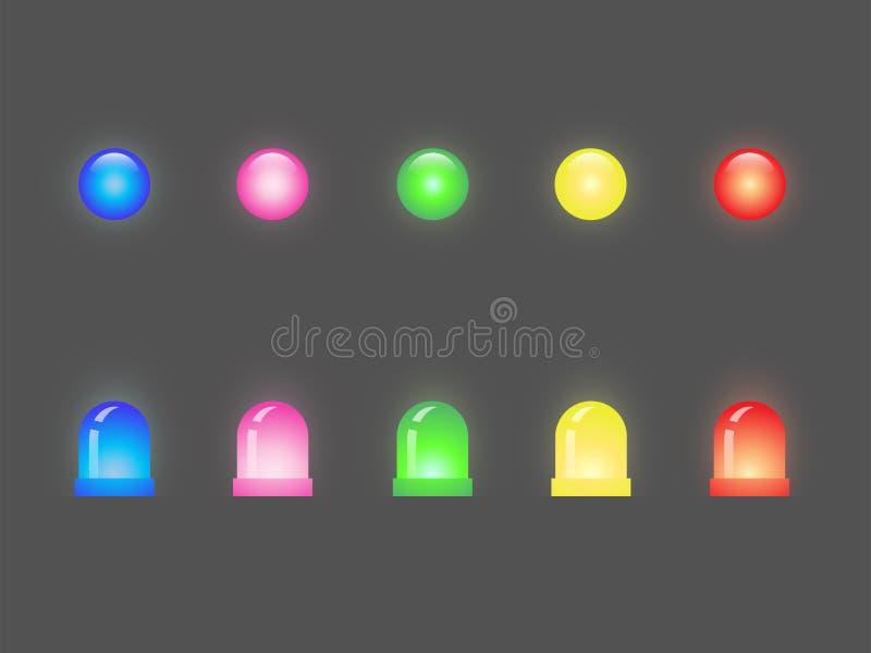 Sistema del LED stock de ilustración