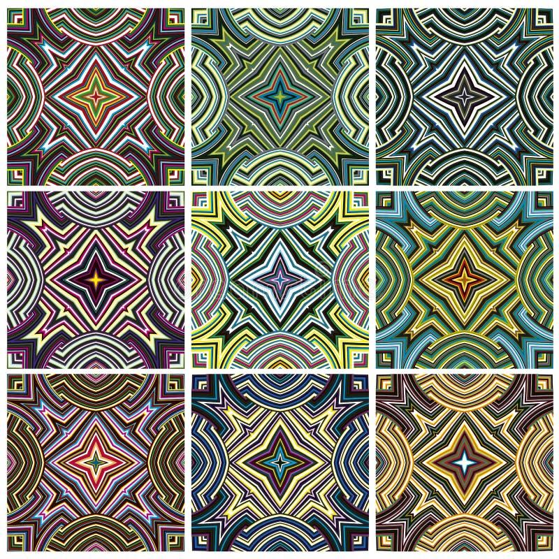 Sistema del modelo de la materia textil de Zimbabwe libre illustration