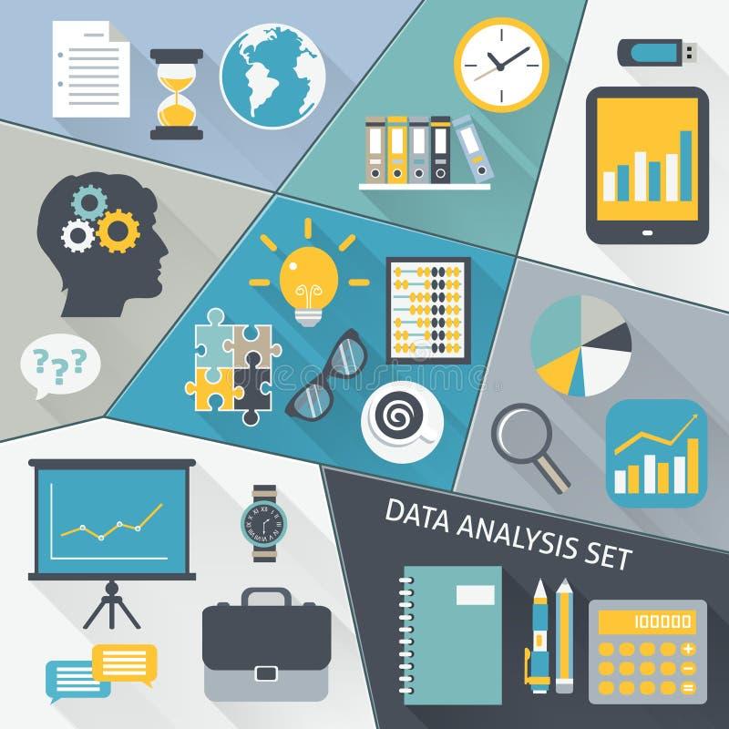 Sistema del plano del análisis de datos libre illustration