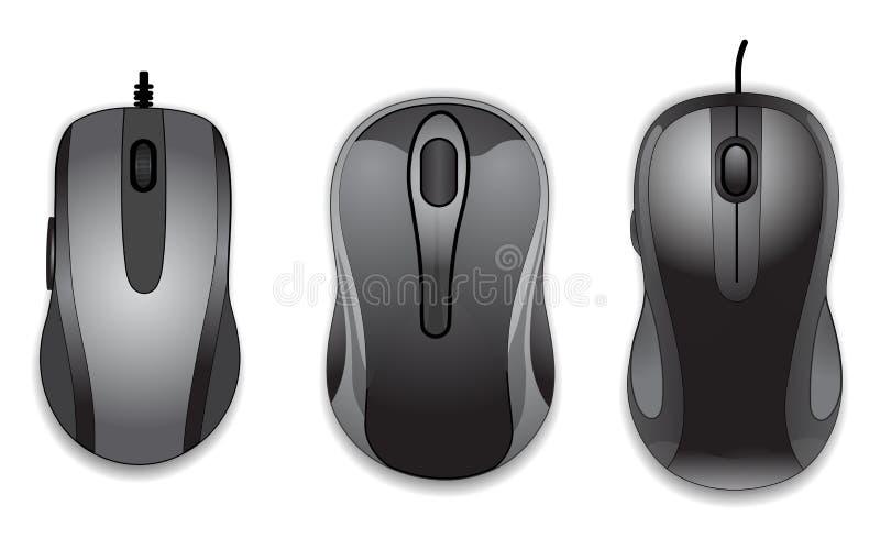 Ratón del ordenador ilustración del vector