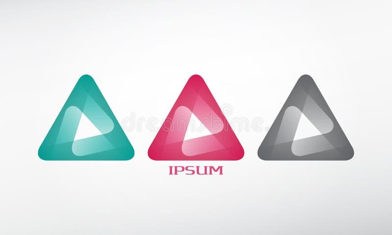 Sistema del triángulo libre illustration