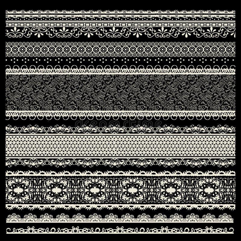Sistema del vector de ajustes del cordón libre illustration