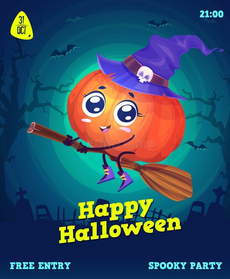 Sistema del vector de los ejemplos de Halloween libre illustration