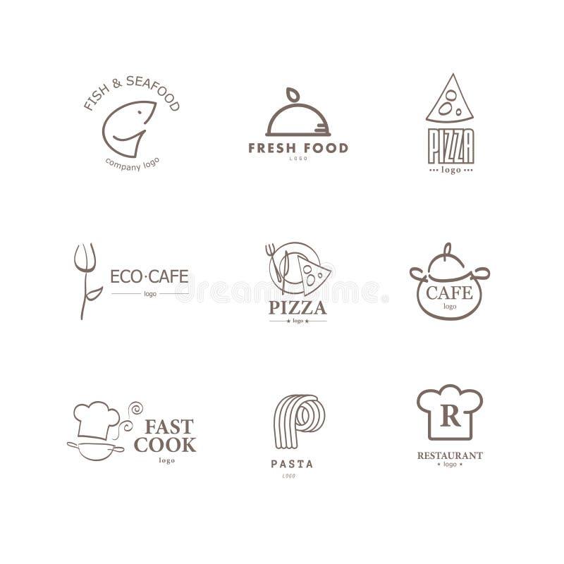 Sistema Del Vector De Plantillas Del Diseño Del Logotipo Del ...
