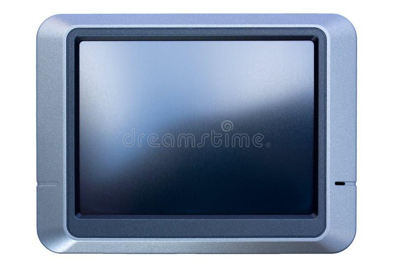 Sistema di percorso dell'automobile di GPS immagini stock