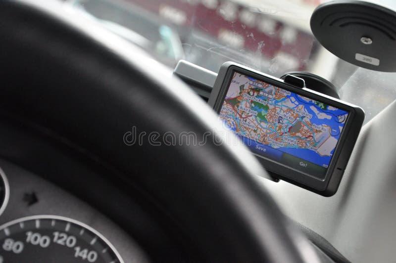 Sistema di percorso portatile di GPS del In-veicolo (Ver1/2) immagine stock libera da diritti