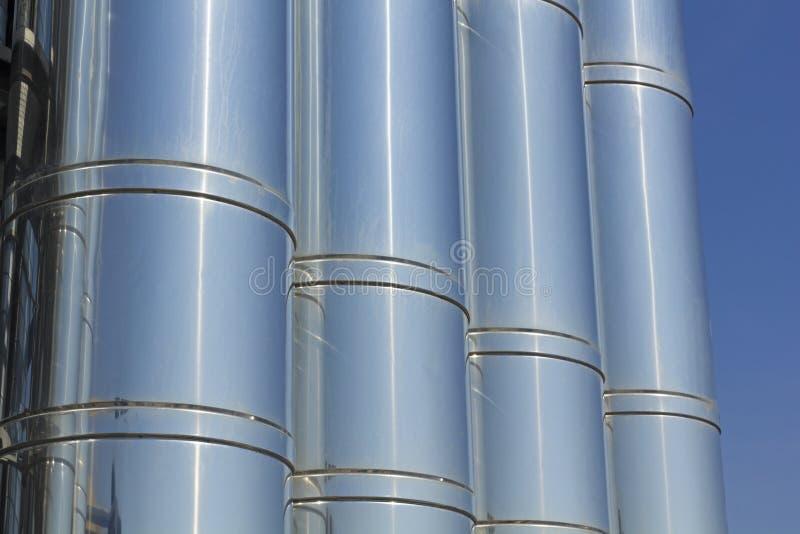 Sistema di raffreddamento industriale. immagine stock