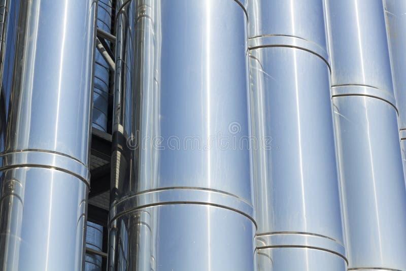 Sistema di raffreddamento industriale. fotografia stock libera da diritti