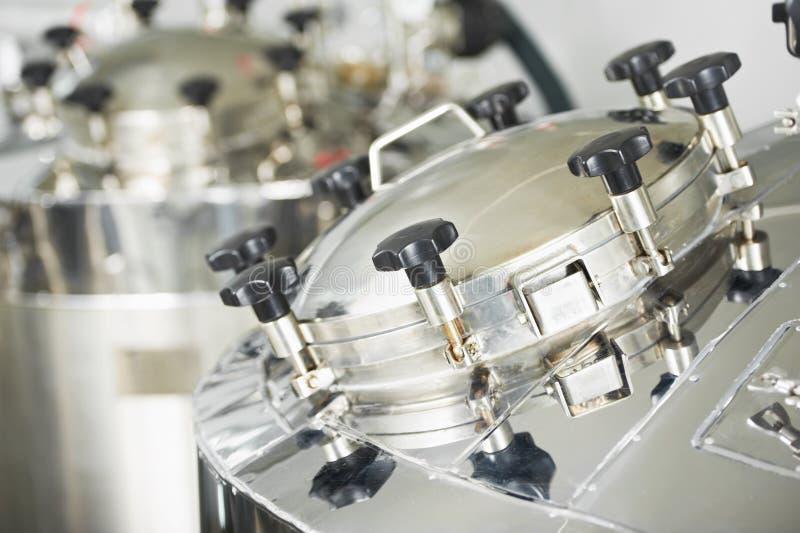 Sistema di trattamento di acqua farmaceutico immagini stock libere da diritti