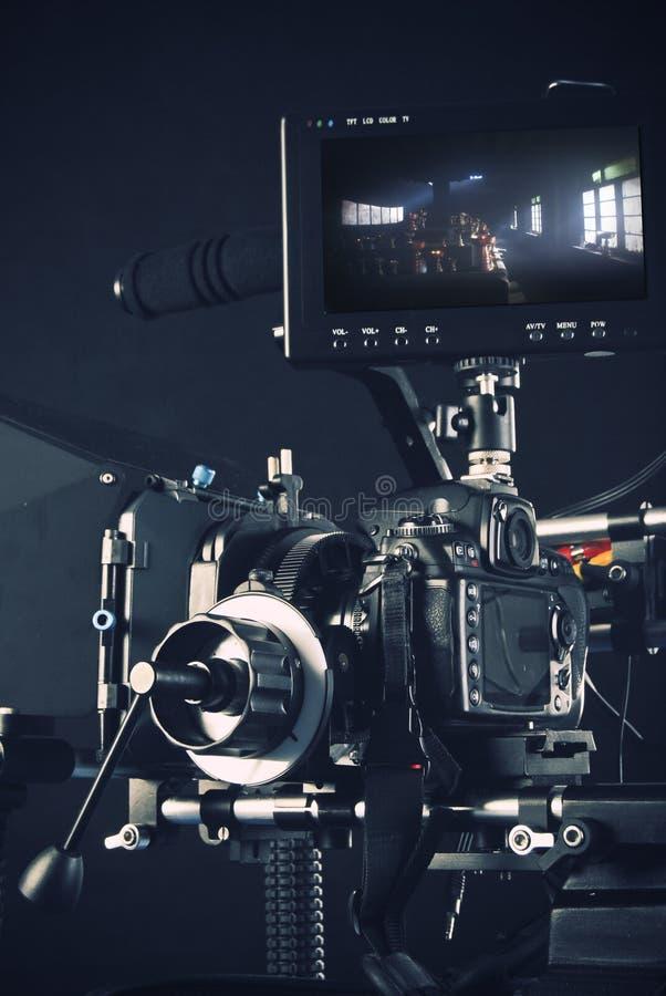 Sistema di una videocamera fotografia stock libera da diritti