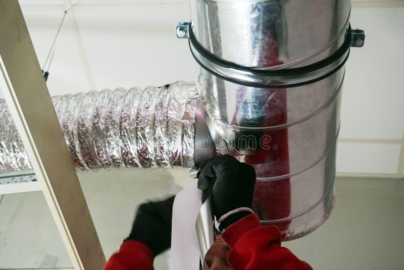 Sistema di ventilazione fotografie stock