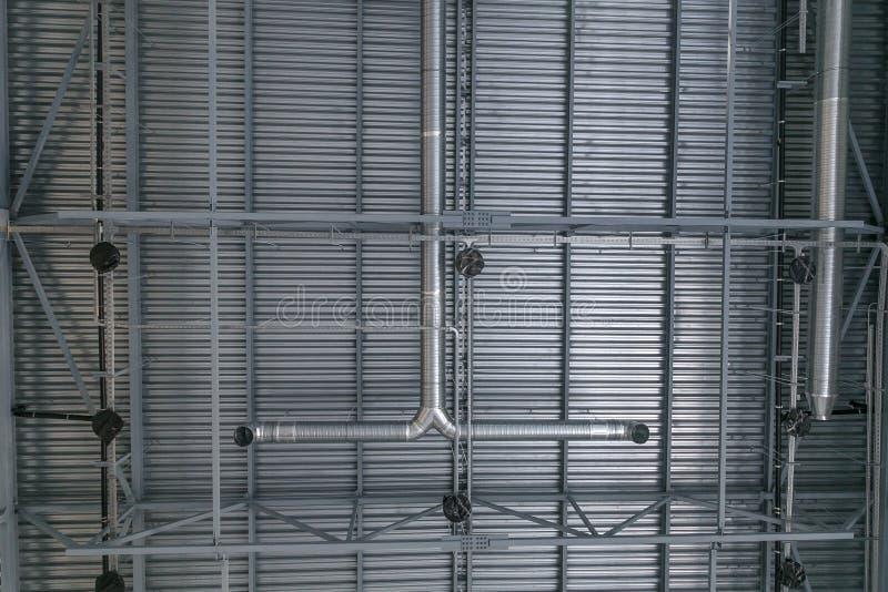 Sistema di ventilazione nell'ambito del soffitto immagini stock libere da diritti