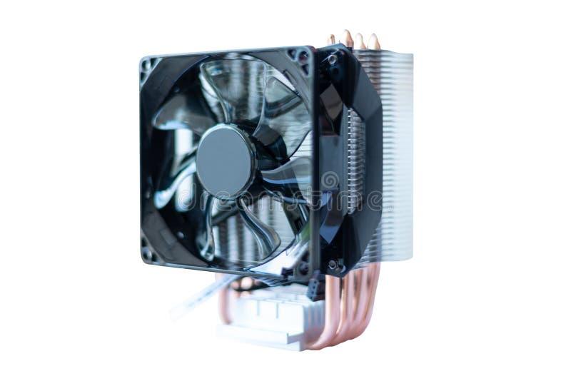 Sistema di ventola di raffreddamento del computer immagine stock