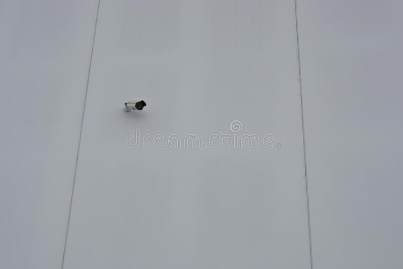 Sistema di videosorveglianza fotografia stock
