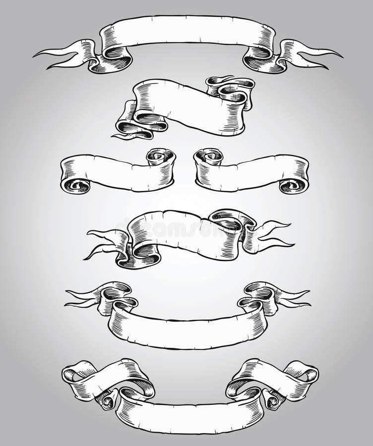 Sistema dibujado mano de la voluta