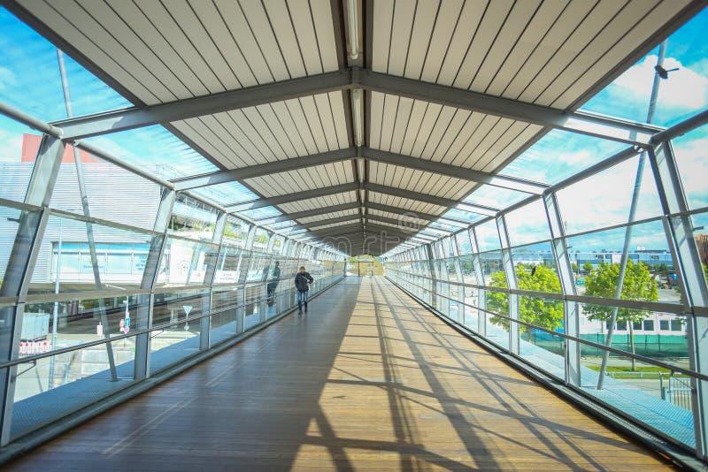 Sistema do metro em Munich imagem de stock royalty free