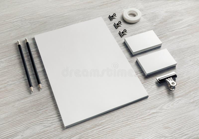 Sistema en blanco de los efectos de escritorio imagen de archivo