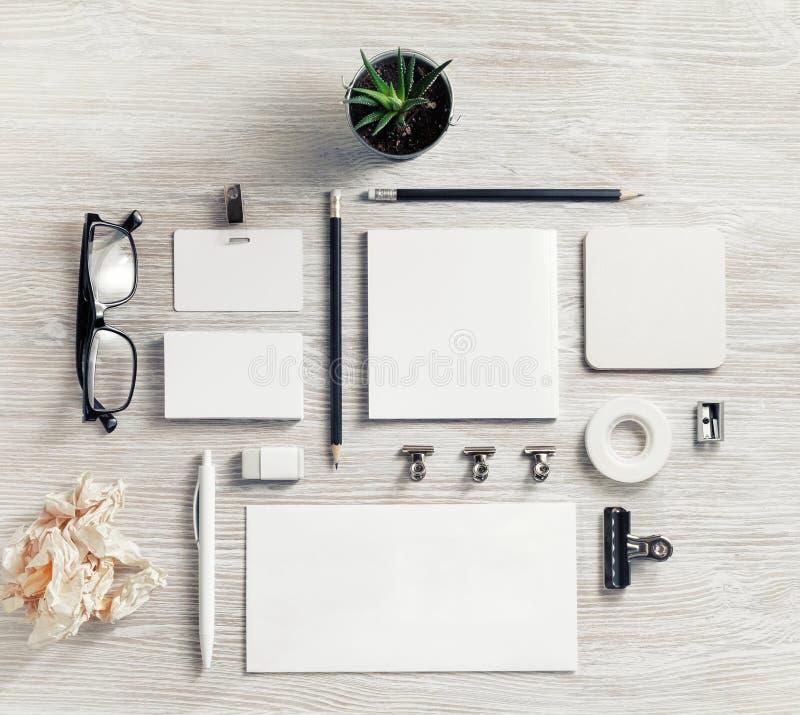 Sistema en blanco de los efectos de escritorio fotos de archivo libres de regalías
