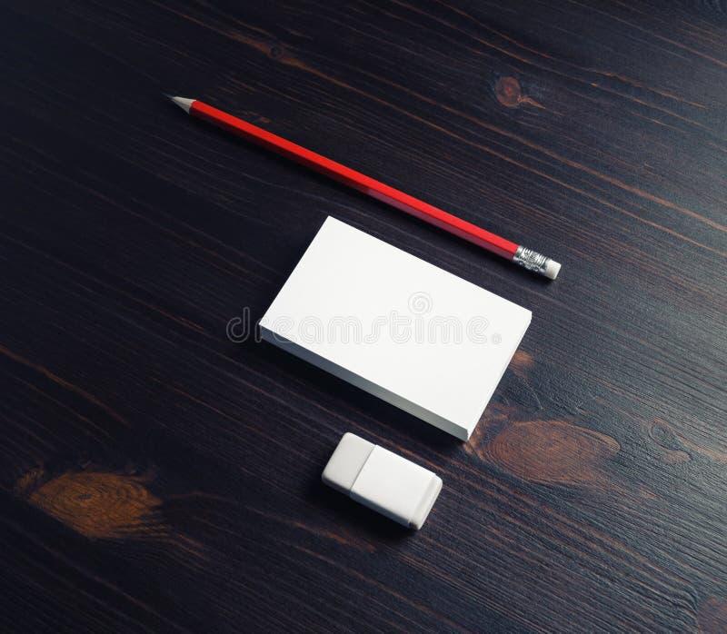 Sistema en blanco de los efectos de escritorio fotografía de archivo libre de regalías