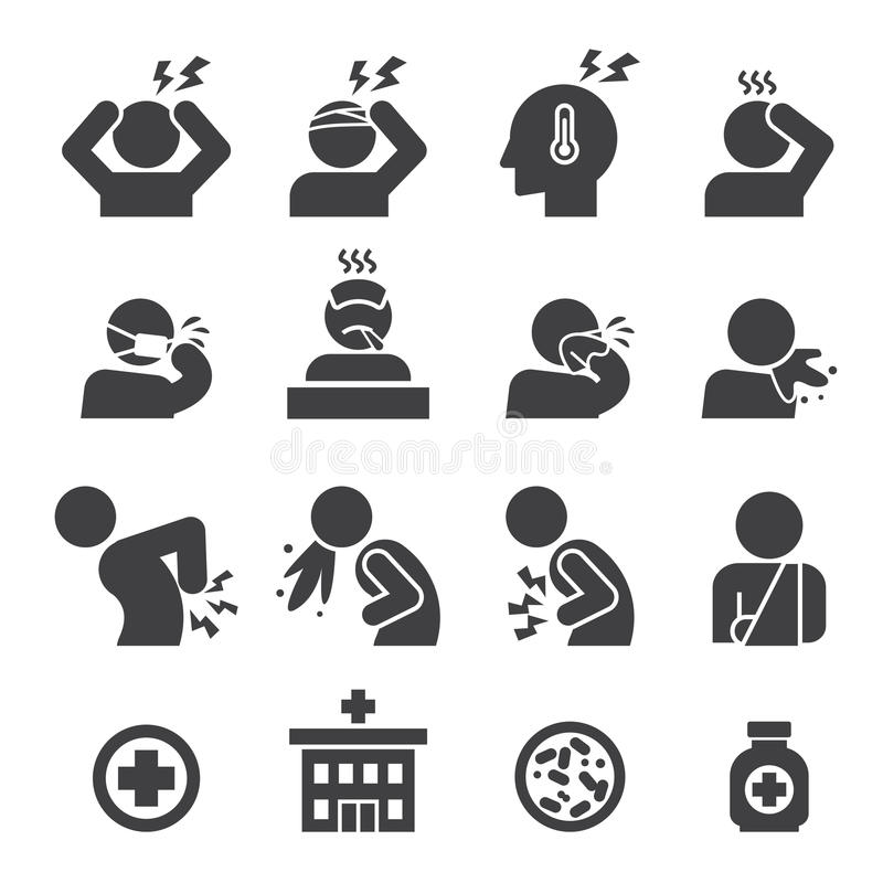 Sistema enfermo del icono