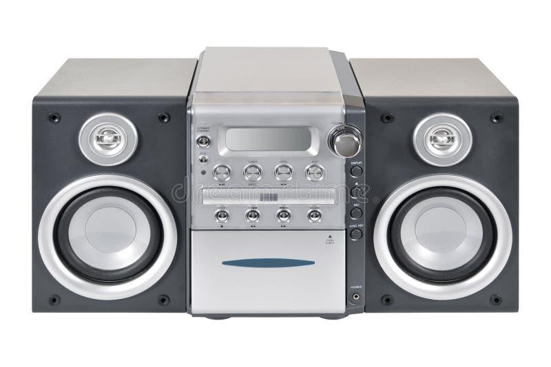Sistema estereofónico compacto fotografia de stock