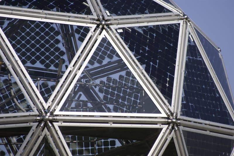 Sistema fotovoltaico innovador del panel imagenes de archivo