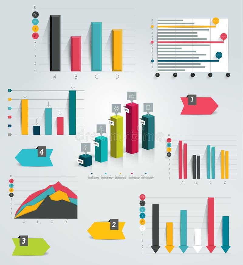 Download Sistema Grande De Cartas Infographic Ilustración del Vector - Ilustración de bandera, gráfico: 42443808