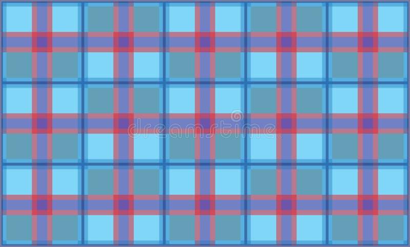 Sistema inconsútil del fondo del modelo de la tela escocesa, ejemplo imágenes de archivo libres de regalías