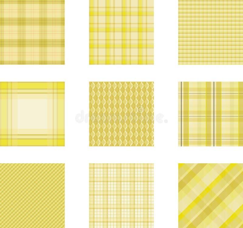 Sistema inconsútil del fondo del modelo de la tela escocesa, ejemplo fotos de archivo