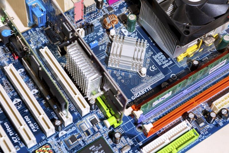 Sistema informático, para executar a tarefa imagem de stock