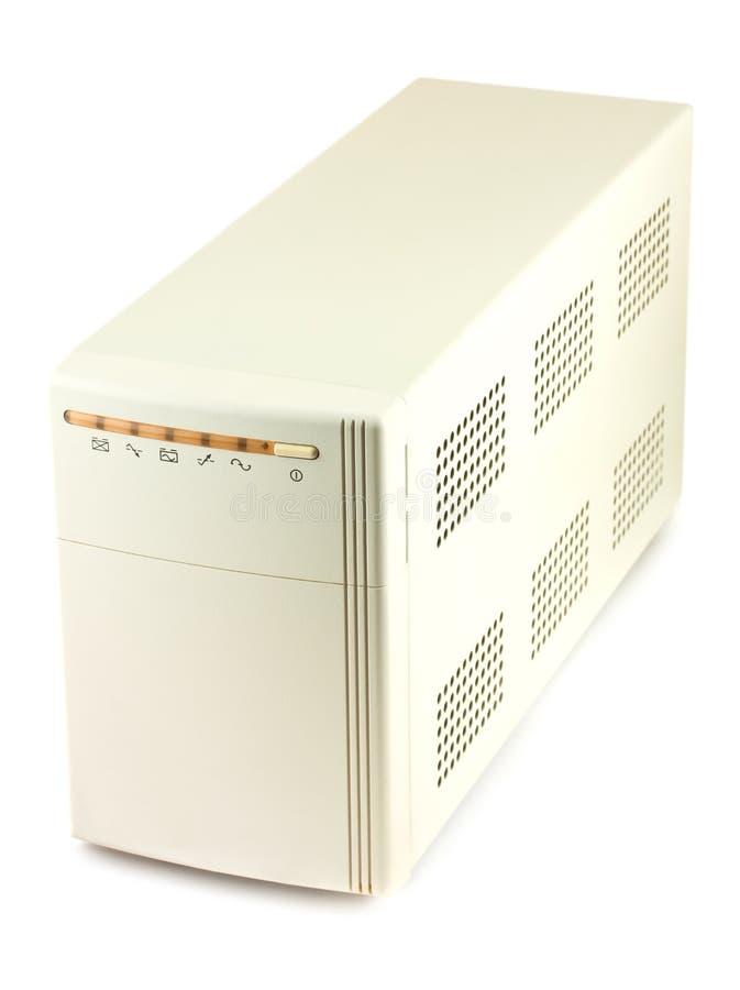 Sistema ininterrotto dell'alimentazione elettrica immagine stock