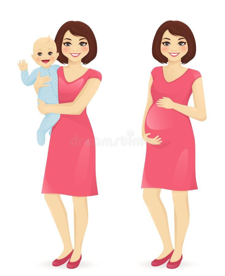 Sistema joven de la madre libre illustration