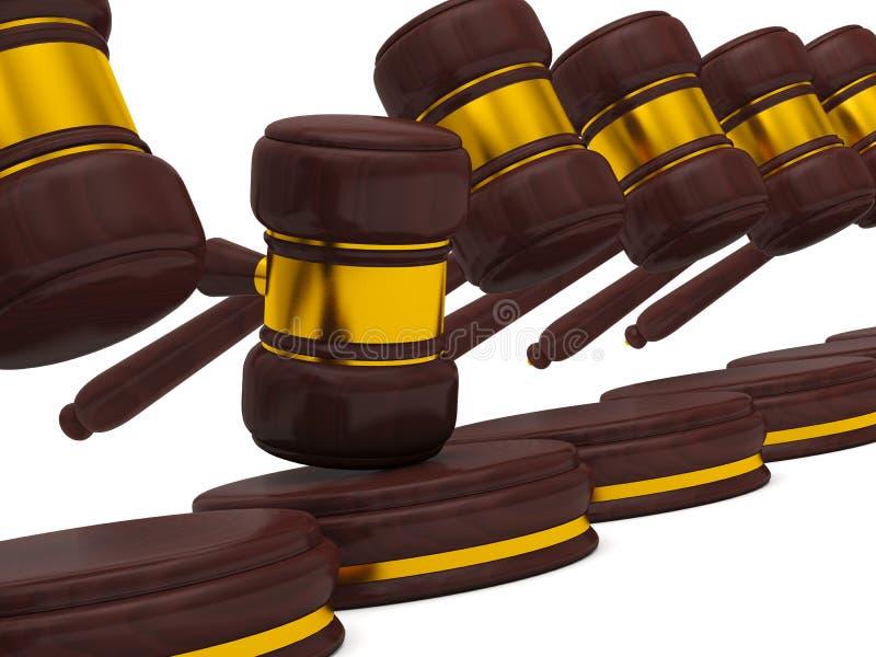 Sistema legal ilustração stock