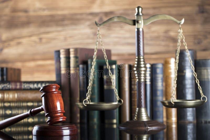Sistema legal Conceito da lei e da justiça imagens de stock royalty free