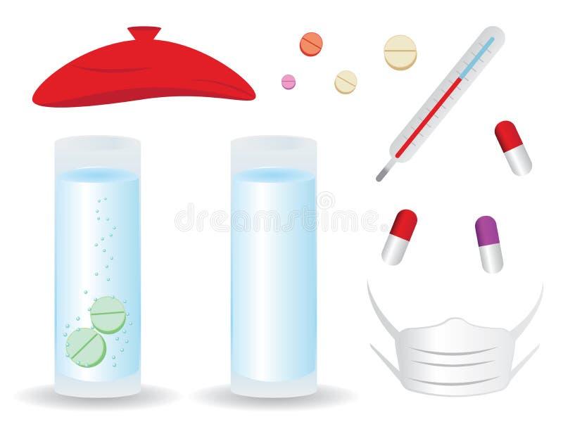 Sistema médico ilustración del vector
