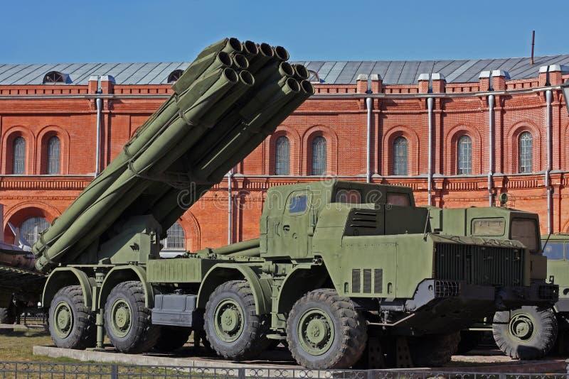Sistema missilistico mobile fotografia stock