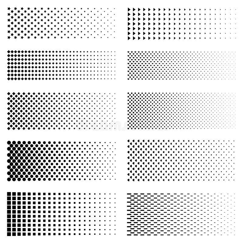 Sistema punteado de la pendiente libre illustration