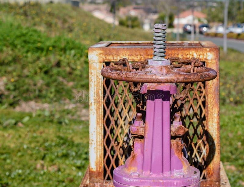 Sistema riciclato del controllo delle acque fotografie stock