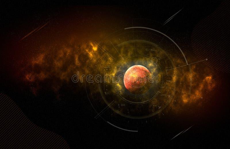 Sistema Solar - Marte Es El Cuarto Planeta Del Sun Marte ...